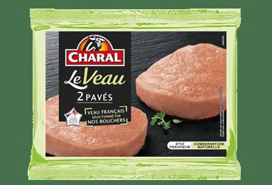 Pavés de veau, cuisson à la poêle - charal.fr