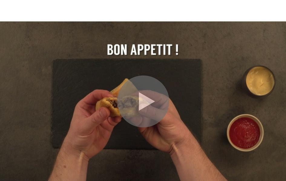 Recette Vidéo Croq-Monsieur Façon Burger - Nos recettes - charal.fr