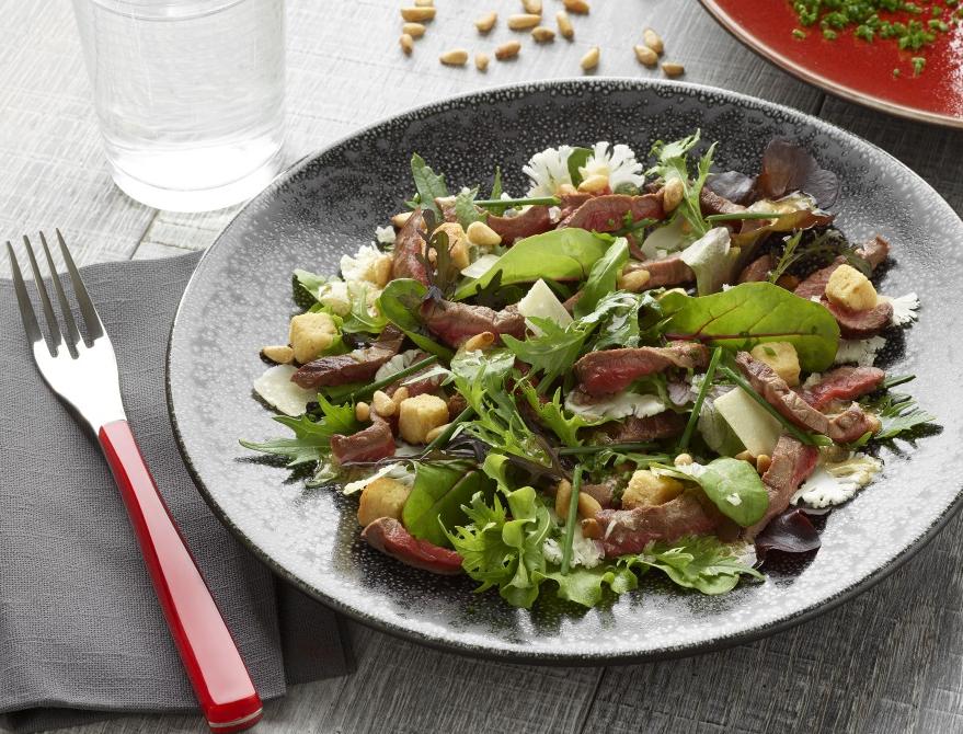 Salade de Boeuf Légère et Croquante - Nos recettes - charal.fr