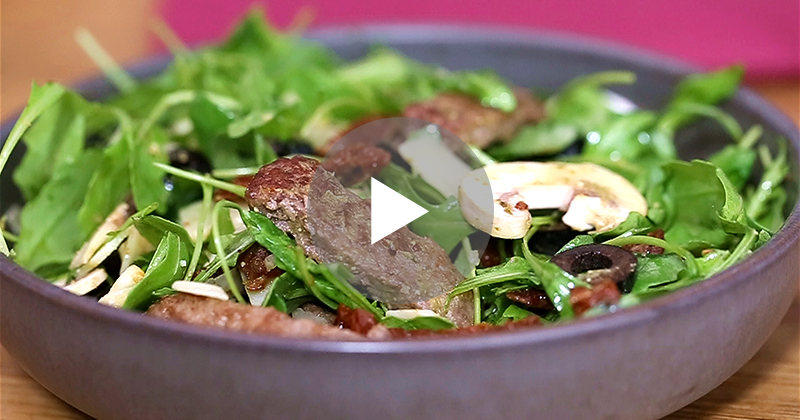 Salade Italienne -Nos recettes - charal.fr