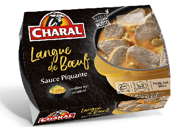 Langue de bœuf sauce piquante à réchauffer - charal.fr