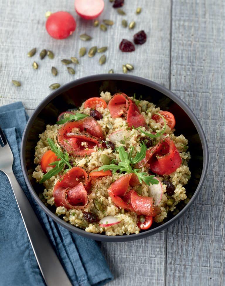 Salade fondante de boeuf au quinoa - Nos recettes - charal.fr