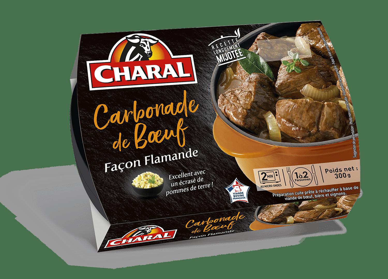 Carbonade de bœuf façon flamande et son écrasé de pommes de terre - charal.fr