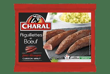 Aiguillettes de bœuf, cuisson à la poêle - charal.fr
