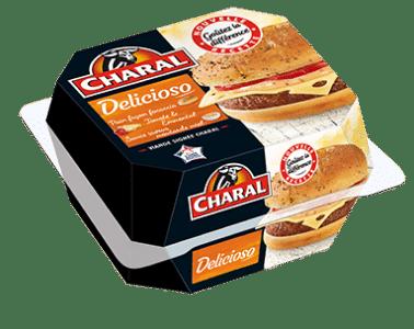 Burger Delicioso au bœuf à réchauffer au micro-ondes - charal.fr