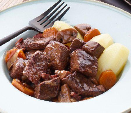 Recette du bœuf bourguignon