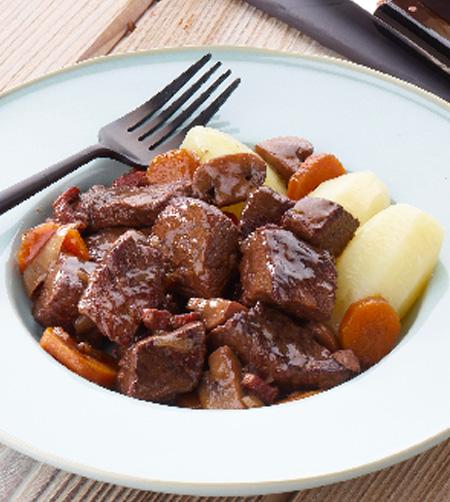 Recette Boeuf bourguignon La cuisine familiale : Un plat