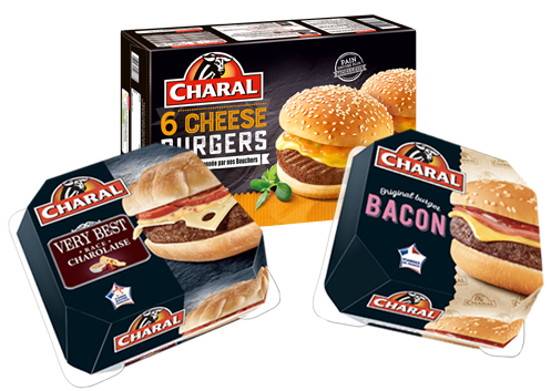 burgers Charal.