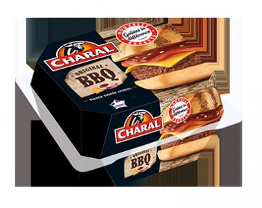 Original BBQ Burger à réchauffer au micro-ondes - charal.fr