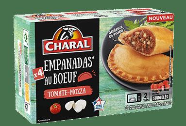 Empanadas au boeuf Tomate & Mozzarella à réchauffer - charal.fr
