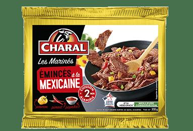 Émincés de bœuf sauce mexicaine, cuisson à la poêle - charal.fr