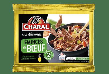 Émincés de bœuf, cuisson à la poêle - charal.fr