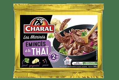 Émincés de bœuf sauce Thaï, cuisson à la poêle - charal.fr