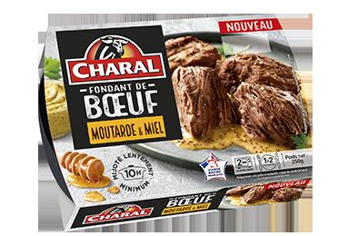 Fondant de bœuf sauce Moutarde et Miel à réchauffer au micro-ondes - charal.fr