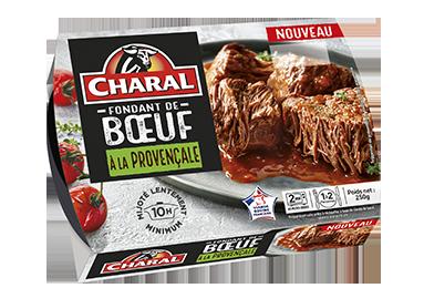 Fondant de bœuf sauce à la Provençale, à réchauffer au micro-ondes - charal.fr