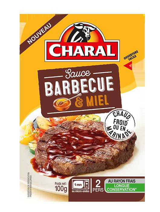 Sauce BBQ & Miel chaude, froide ou en marinade - charal.fr