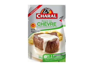 Sauce au chèvre à réchauffer - charal.fr