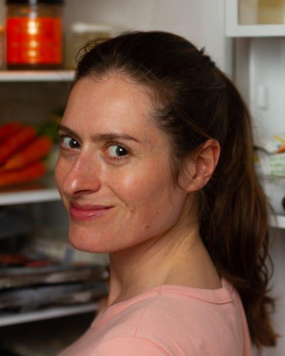 Caroline Pessin, spécialiste batch cooking, auteure et styliste culinaire